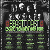 Beast Coast Joey Badass with Flatbush Zombies, Shoreline Amphitheatre, San Francisco