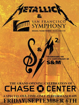 Metallica with San Francisco Symphony at Chase Center