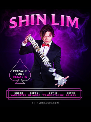 Shin Lim at Cerritos Center