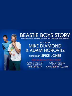 Beastie Boys Story Told By Ad Rock and Mike D Poster