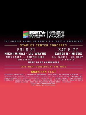 BET Experience - Friday (Nicki Minaj, Lil Wayne, Tory Lanez, Trippie Redd) Poster