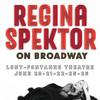 Regina Spektor, Lunt Fontanne Theater, New York