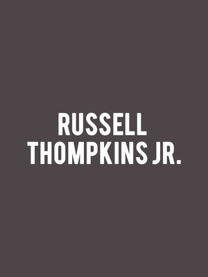 Russell Thompkins Jr. Poster