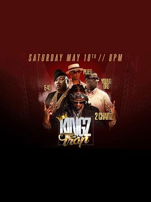 Kingz Of Trap - 2 Chainz, E-40, Plies Poster