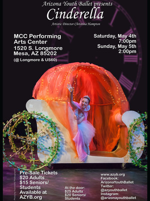 Arizona Youth Ballet - Cinderella Poster
