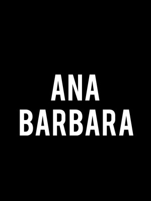 Ana Barbara, Paramount Theater, Denver