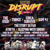 Disrupt Festival, DTE Energy Music Center, Detroit