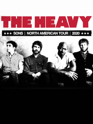 The Heavy, Teragram Ballroom, Los Angeles
