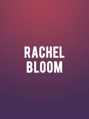 Rachel Bloom, London Palladium, London