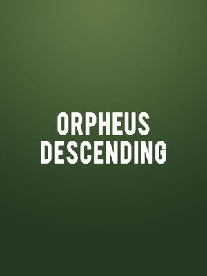 Orpheus Descending at Menier Chocolate Factory