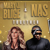 Mary J Blige and Nas, Cynthia Woods Mitchell Pavilion, Houston