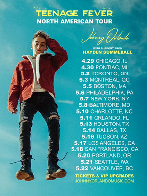Johnny Orlando at Paradise Rock Club