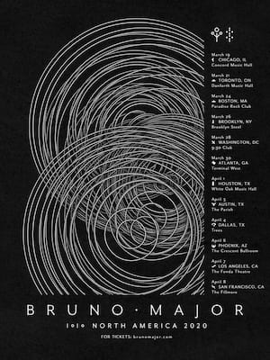 Bruno Major, Canton Hall, Dallas