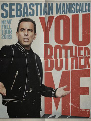 Sebastian Maniscalco at Chrysler Hall