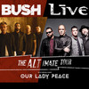 Bush And Live, Pacific Amphitheatre, Costa Mesa