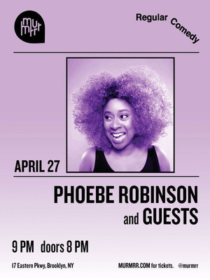 Phoebe Robinson at Cobbs Comedy Club