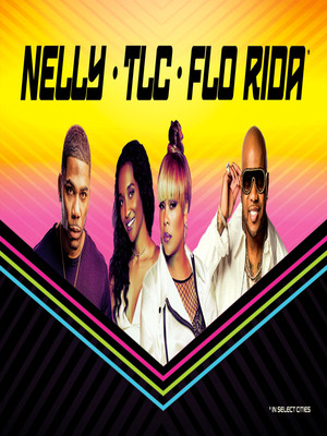 Nelly with TLC and Flo Rida at Jiffy Lube Live