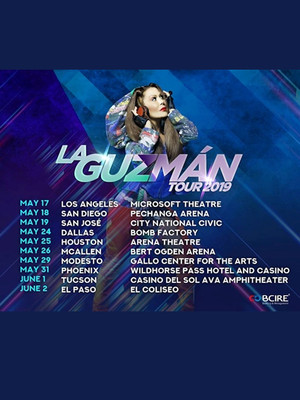 Alejandra Guzman at Honda Center Anaheim