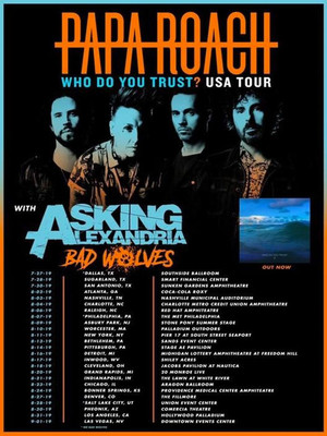 Papa Roach at Downtown Las Vegas Events Center