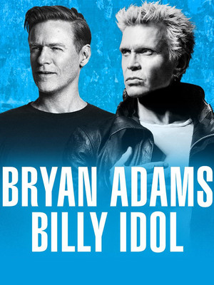 Bryan Adams and Billy Idol Poster