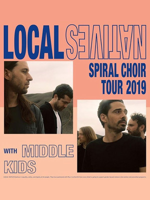Local Natives at Fox Theatre Oakland