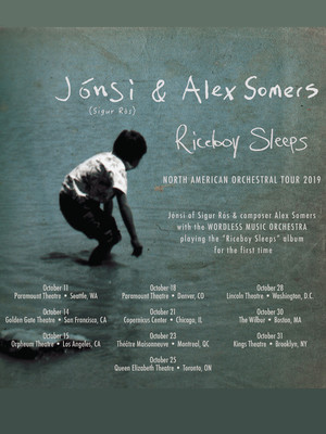 Jonsi and Alex Somers at Queen Elizabeth Theatre