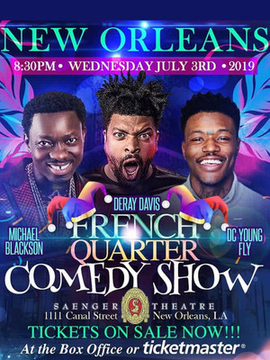 French Quarter Comedy Fest at Saenger Theatre
