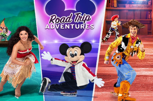 Disney On Ice: Road Trip Adventures's whistlestop visit to Los Angeles