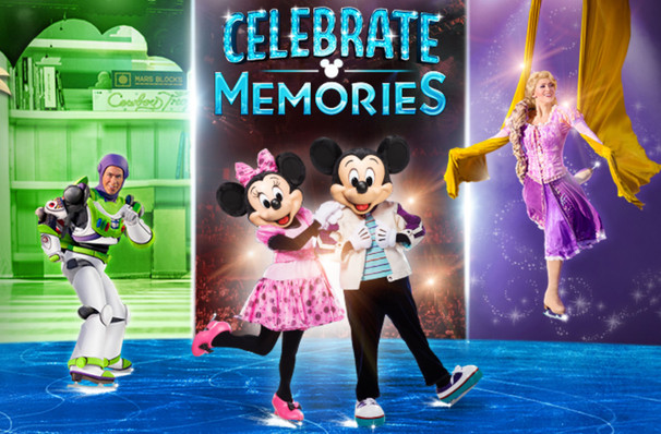 Disney On Ice Celebrate Memories, Bon Secours Wellness Arena, Greenville