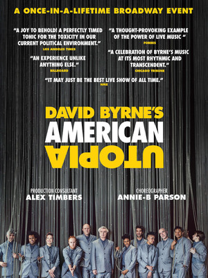 David Byrnes American Utopia, Hudson Theatre, New York