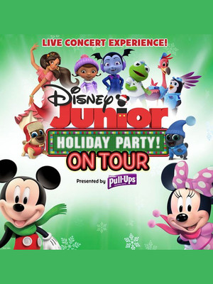 Disney Junior Holiday Party, Ruth Finley Person Theater, San Francisco