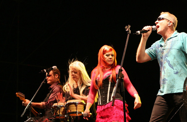 B 52s with OMD and Berlin, Meadow Brook Music Festival, Detroit