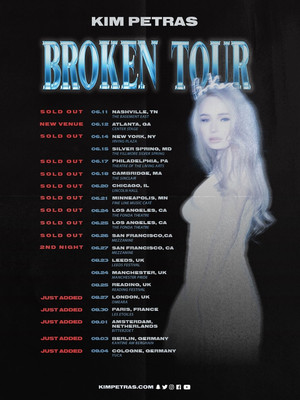 Kim Petras, Riviera Theater, Chicago