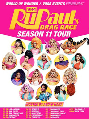 RuPaul's Drag Race at The Strand Ballroom and Theatre