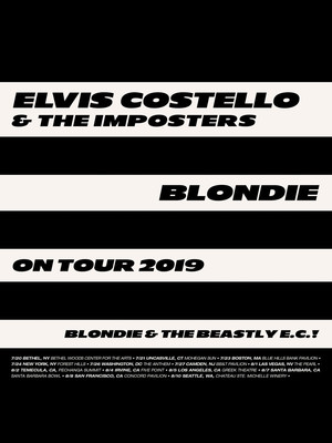 Elvis Costello and Blondie Poster