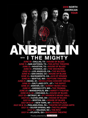 Anberlin at Saint Andrews Hall