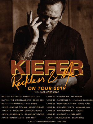 The Kiefer Sutherland Band Poster