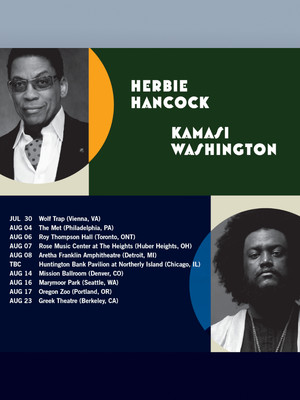 Herbie Hancock and Kamasi Washington Poster