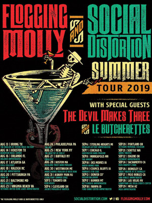 Social Distortion and Flogging Molly Poster