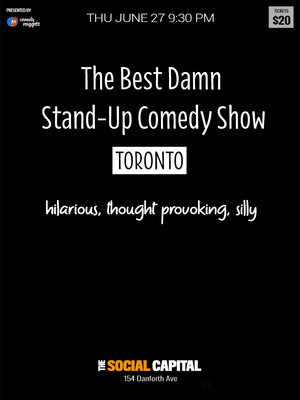 The Best Damn Stand-Up Comedy Show Poster