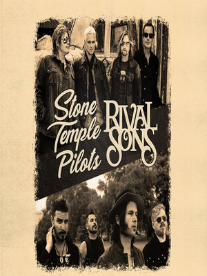 Stone Temple Pilots and Rival Sons Poster