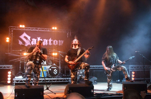 Sabaton, Danforth Music Hall, Toronto