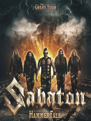 Sabaton at Vic Theater