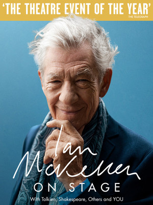 Ian McKellen On Stage Poster