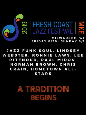 Fresh Coast Jazz Festival Poster