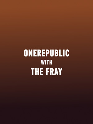 OneRepublic with The Fray at Toyota Stadium