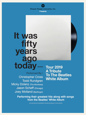 A Tribute To The Beatles White Album Poster