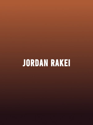 Jordan Rakei, Music Hall Of Williamsburg, Brooklyn