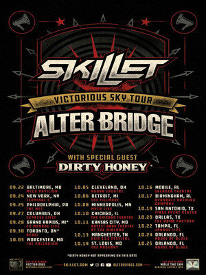 Alter Bridge and Skillet Poster