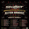 Alter Bridge and Skillet, MECU Pavilion, Baltimore